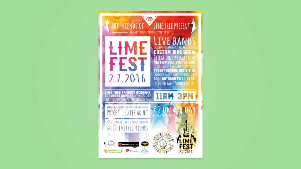 Charity design | Friends of lime tree | Crave Digital