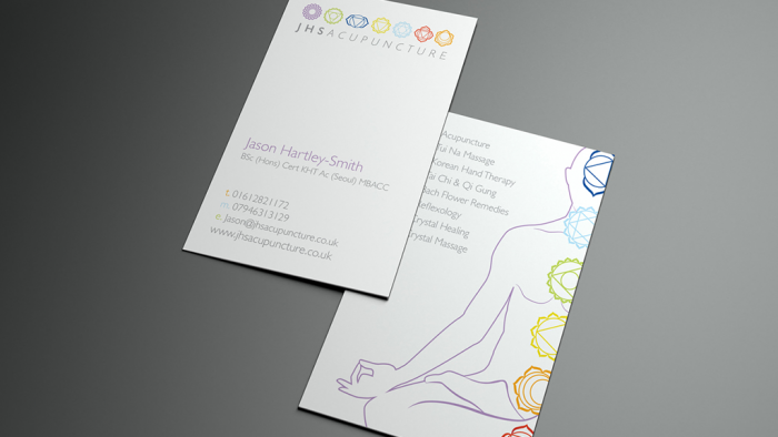 JHS Business card design