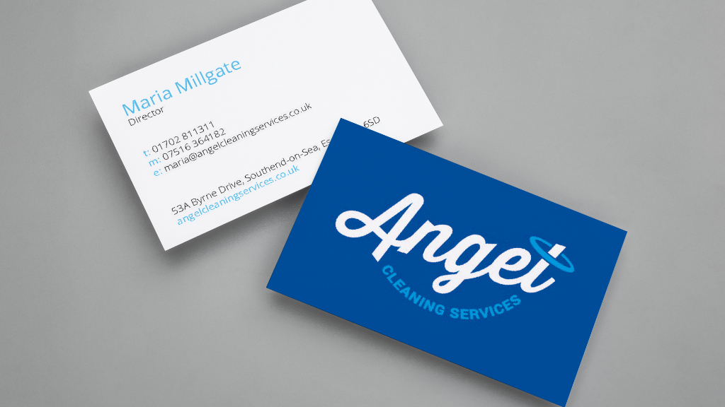 Logo design and business cards
