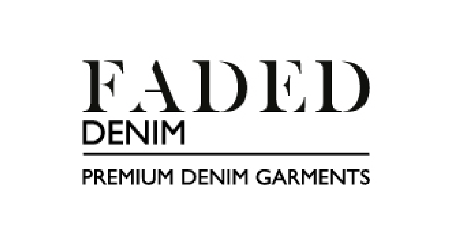 Faded Denim Logo