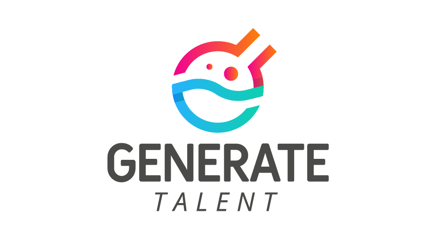 Generate Talent Logo design